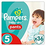 Giga pack de 36 couches Pampers Baby-Dry - Taille 5