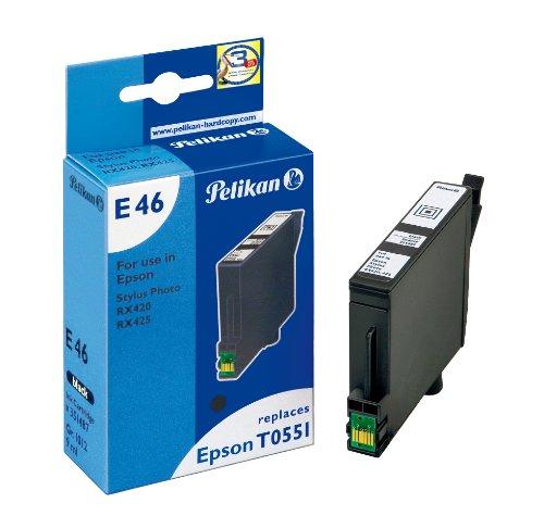 Preisvergleich Produktbild Pelikan Druckerpatrone E46 ersetzt Epson T05514010, Schwarz