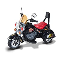 HOMCOM Children Ride On Toy Car Kids Motorcycle Electric Scooter 6V Battery Operated Toy Trike