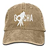 U-Only Gotcha Finger Baseball Caps Denim Hats for Men Women
