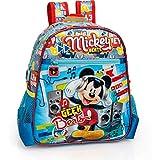 Disney Zaino Asilo Mickey Mouse Topolino 3D 11X25X29CM