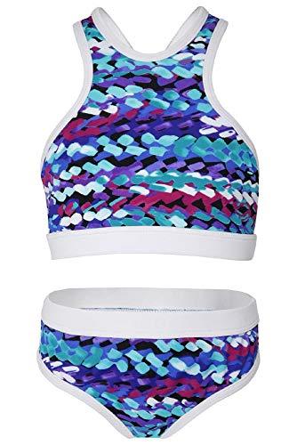 La-V Mädchen Bikini Zweiteilig Sport Painted Dots/Größe 170/176 -