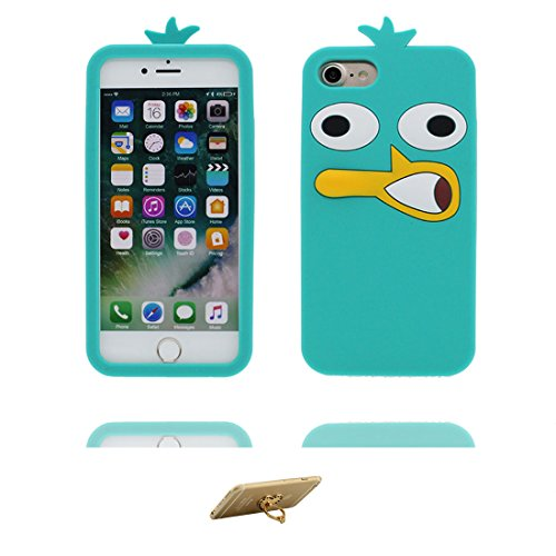 iPhone 6 Plus Custodia, TPU [ Animale ] Cover Shell Semplice Progettato per iPhone 6s Plus Copertura (5.5 pollici), iPhone 6S Plus Case - e ring supporto [ Disney Toy Potato ] # 4