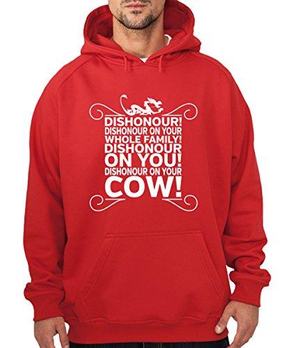 -- Dishonour! -- Boys Kapuzenpullover Rot