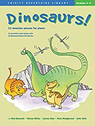 Dinosaurs!: 11 Monster Pieces for Piano (Trinity Repertoire Library)