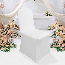 Lot De 50 Housse Chaise Mariage Extensible Pour Rception Anniversaire Banquet Runion Party Ftes