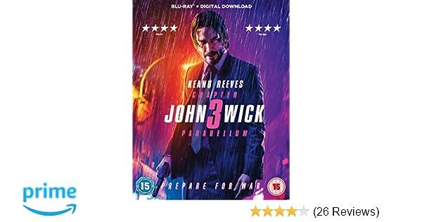 John Wick: Chapter 3 - Parabellum [Blu-ray] [2019]: Amazon co uk