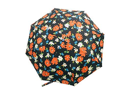 Little Swag 3 Fold Printed Double Coating Umbrella for Women (Auto Open Close Button)(Any 1 Print).