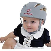 ELENKER Casque de sécurité ajustable pour bébé Casque de protection pour  marche ec59874d47d