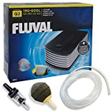 Fluval Q2 Air Pump Single Output - 240L/H - FREE Hose / Air Stone / Non Return Valve /Aquarium Fish Tank Oxygen