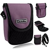 LUPO Compact Camera Case Soft Bag Pouch with Strap Belt Clip Pocket Universal