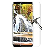 Samsung Galaxy S8 Schutzfolie,Gorgester 3D Full Coverage 9H Härte Anti-Kratzer Galaxy S8 Screen Protector Gehärtetem Glas Glasfolie Displayschutzglas für Samsung Galaxy S8 (Transparent)