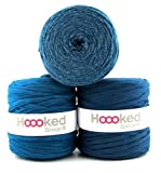 Hoooked Zpagetti Textilgarn 120 m Rolle alle Farben zur Wahl (petrol)