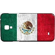 Funda Carcasa para Galaxy S4 Mini Bandera MÉXICO 01