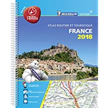 France 2018 Laminated A4 (Michelin Road Atlases)