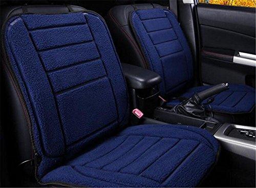 GEARS PANDA Auto Heizkissen Plüsch 12V 24V anit-Rutsch Winter Hot Pad Single Seat , D Feuer Lkw-bett