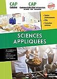 Sciences appliquées CAP Cuisine et CAP Commercialisation et services en Hôtel, café, restaurant