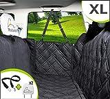 Meadowlark XL Hundedecke für Auto Rückbank. Wasserdicht! Komplettschutz Autoschondecke für Hunde, Wasserfester Rücksitz Sitzbezug, ideale Autodecke für Haustiere, Schonbezüge Decke + 2 Geschenke