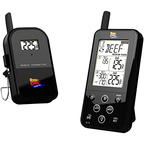Preisvergleich Produktbild Maverick ET-733 Wireless Barbecue Thermometer mit Funk, Farbe:Schwarz