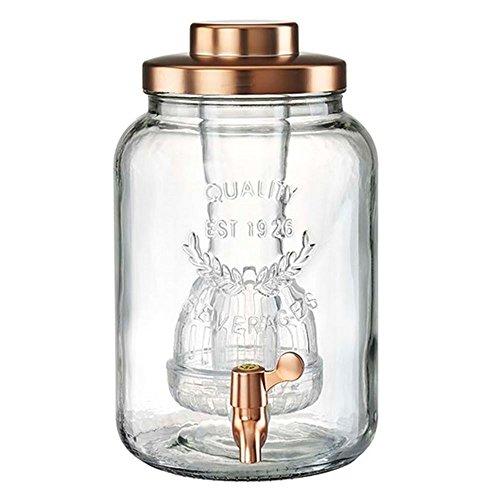 Artland Masonware Beverage Jar, 2 gallon, Copper -