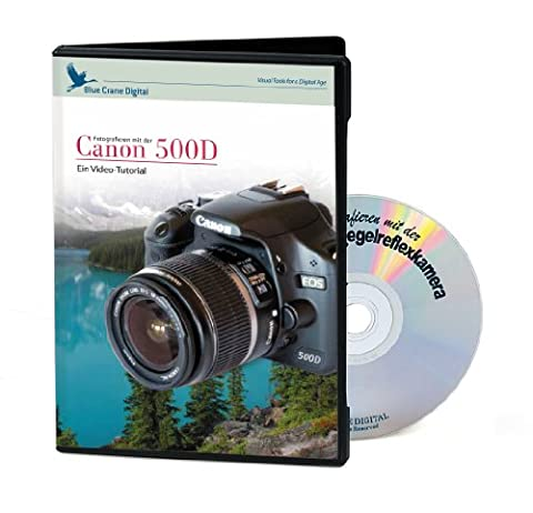 Kaiser Video-Tutorial für Canon 500D (DVD, deutsch)