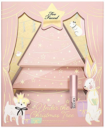 Too Faced 4-Pieces. Under The Christmas Tree Set, A $230 Value! Eyeshadow