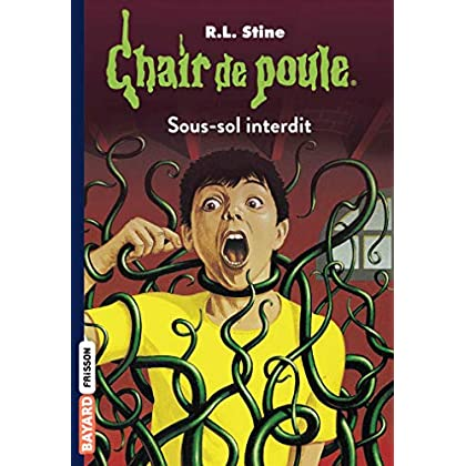 Chair de poule , Tome 17: Sous-sol interdit