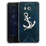 DeinDesign HTC U11 Hülle Case Handyhülle Anker Anchor Segeln