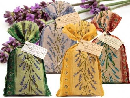 Divine Yoga Shop Sac de lavande – authentique Lavande séchée à partir de France Provence | Idéal comme cadeau | l'utiliser comme Parfum de Maison