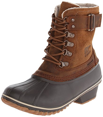 Sorel Out N about Leather, Damen Chukka Boots Elk/Grizzly Bear