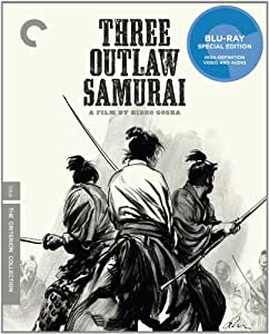 Criterion Collection: Three Outlaw Samurai [Blu-ray] [1964] [US Import]
