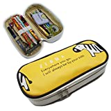 Artone Zebra Grösse Kapazität Etui Schreibwaren Pounch Handytasche Kosmetiketache Gelb