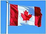 Hemore Kanada Flagge Fahne [90x150cm] Wetterfest AZ Flag