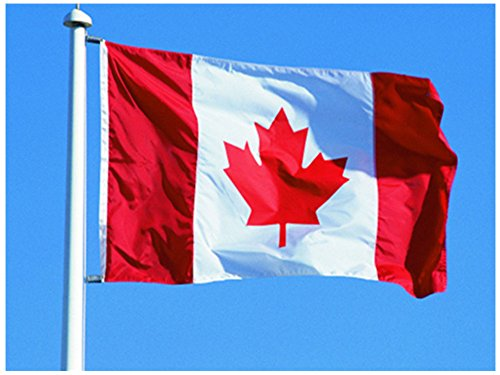 Hemore Kanada Flagge Fahne [90x150cm] NEU Wetterfest AZ Flag (Autofahne Kanada)