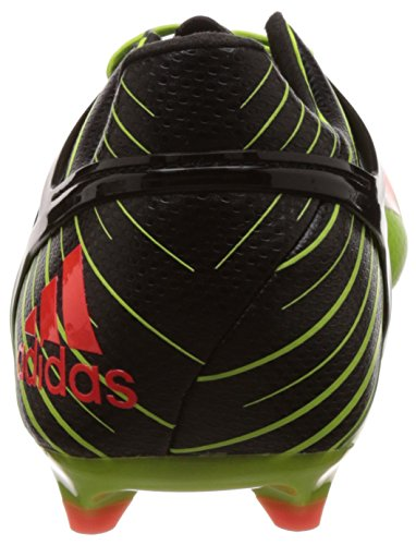 adidas Messi 15.1, Chaussures de Foot Homme Vert (Semi Solar Slime/Solar Red/Core Black)