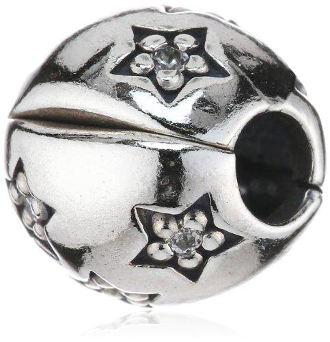 Pandora 791058cz - ciondolo da donna con zirconia cubica, argento sterling 925