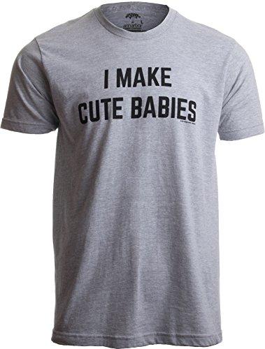 I make cute babies (faccio bei bambini) - maglietta divertente per papà - idea regalo festa del papà - t-shirt uomo/unisex con scritta - xx-grande - 2xl