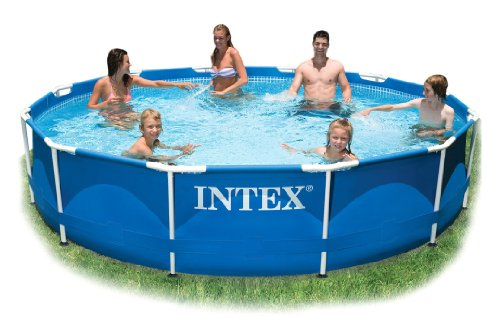 Intex 10ft Durchmesser x 30in tief Metall Frame Pool (ohne Pumpe) # 28200