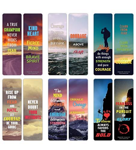 ate inspirierende Sprüche Lesezeichen-Karten (30er-Pack) - Lesezeichen-Sammlungs-Set - Strumpffüller für Männer und Frauen, Teenager, Erwachsene ()