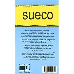 Dº Sueco     SUE-ESP / ESP-SUE (DICCIONARIOS)