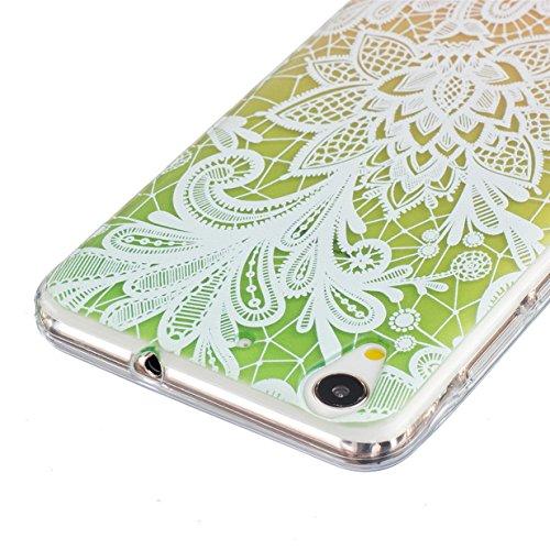 WYSTORE pour Huawei Honor 5A/Y6 II/Y6 2 Vogue Gel Housse étui de téléphone mobile ,TPU Silicone Matériau Transparente Ultra Mince Supérieur Semi Transparent Doux Coque pour Huawei Honor 5A/Y6 II/Y6 2  A09