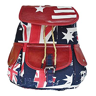 f3e415775c5 Women s Printed Backpack College Bag For Girl s  Amazon.in  Shoes ...
