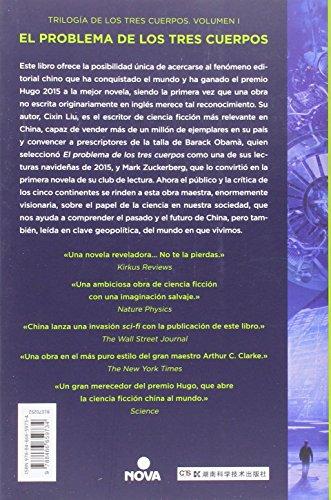 Resumen del libro de Cixin Liu EL PROBLEMA DE LOS TRES CUERPOS