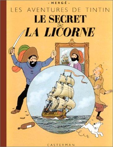 Les Aventures de Tintin : Le Secret de la licorne (fac similé)