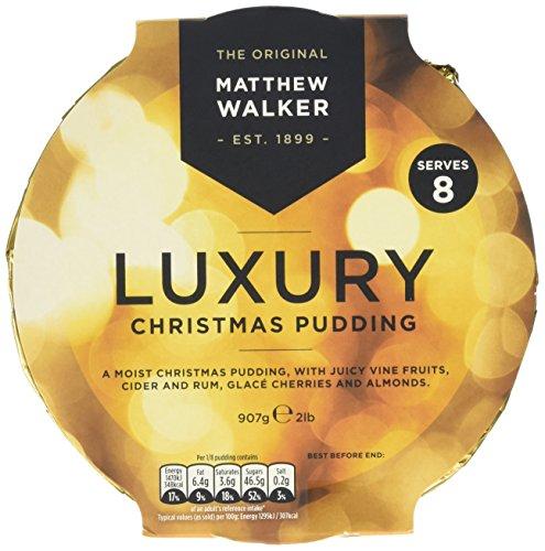 Matthew Walker Luxury Christmas Pudding Large 907g Test