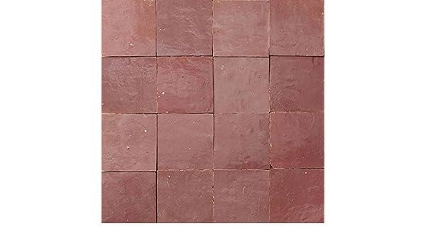 Zellige piastrelle rosa: amazon.it: fai da te