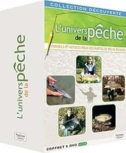 Coffret 5 DVD: L'univers de la Pêche