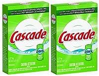 2 Pk, Cascade , Powder Dishwasher Detergent, Fresh Scent 45 Oz