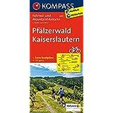 Pfälzerwald - Kaiserslautern: Fahrrad- und Mountainbikekarte. GPS-genau. 1:70000 (KOMPASS-Fahrradkarten Deutschland, Band 3093)