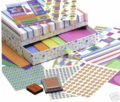 Grand toutes les occasions carte artisanat Scrapbooking artisanat srapbooking Coffret